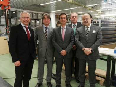 VISITA A ORBIS DEL DIRECTOR GENERAL DE INDUSTRIA DE LA COMUNIDAD DE MADRID